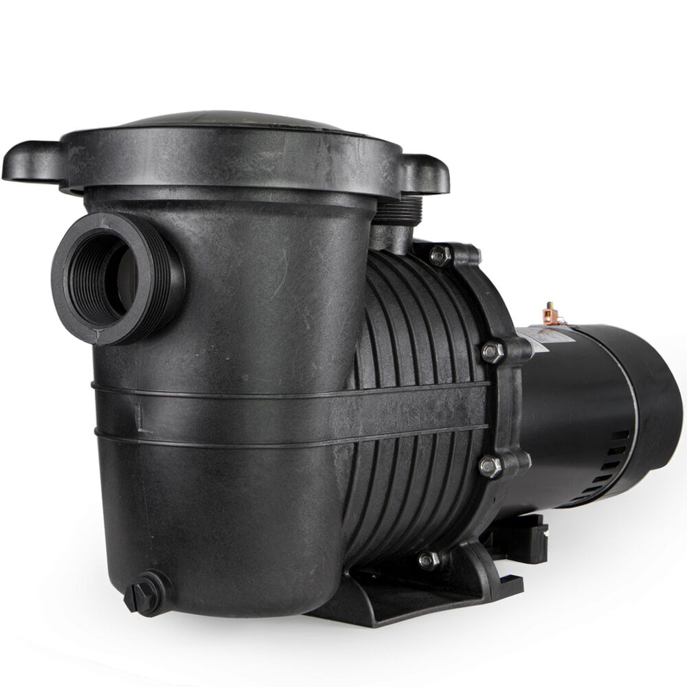 1 5hp in ground swimming pool pump motor w strainer high for Swimming pool pump motors
