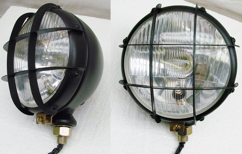 Tractor With Headlights : All metal housing hi low beam tractor headlights w