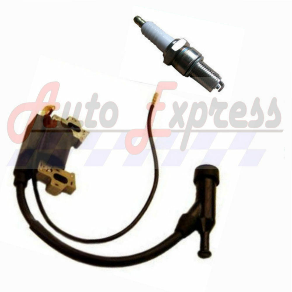 new honda gx160 5 5 hp ignition coil and spark plug for 5. Black Bedroom Furniture Sets. Home Design Ideas