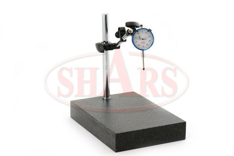 Starrett 0 2 Digital Drop Indicator : Shars granite surface check comparator stand plate