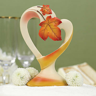 autumn wedding cake toppers maple leave fall wedding cake toppers autumn wedding cake 10909