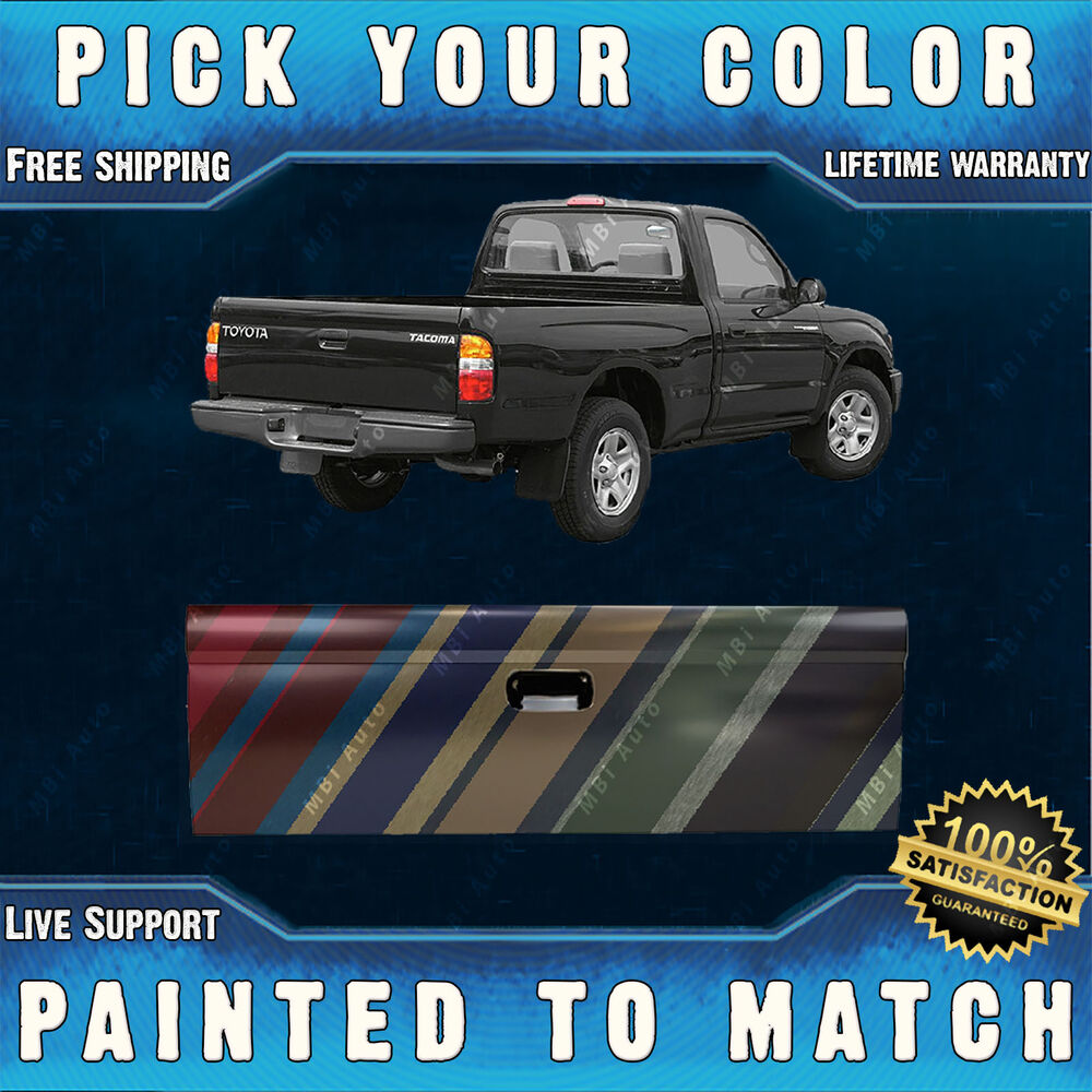 Toyota Tacoma Truck >> Painted To Match Rear Tailgate Replacement for 1995-2004 ...