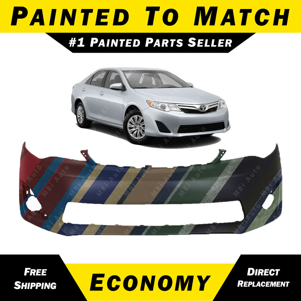 Painted To Match Front Bumper Cover Fascia For 2012-2014