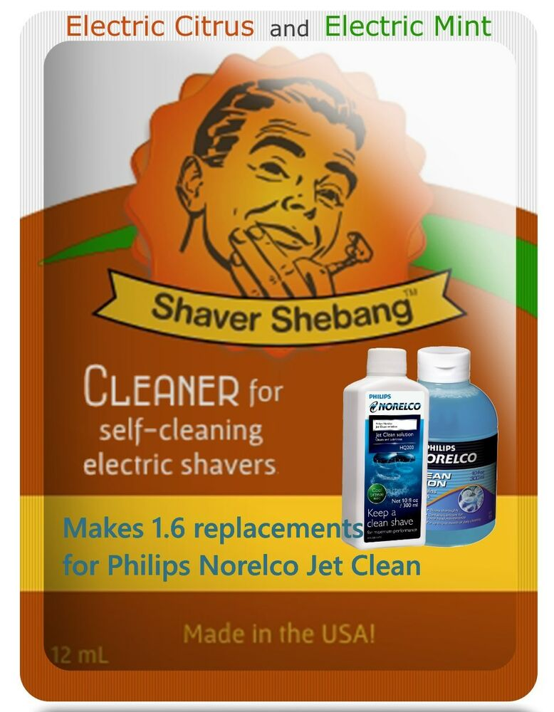 philips jet clean solution instructions