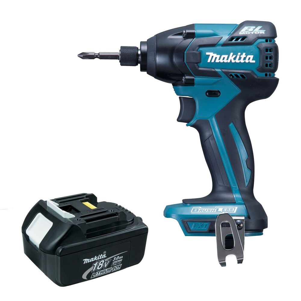 makita 18v lxt btd129 btd129z new brushless impact driver bl1830 battery ebay. Black Bedroom Furniture Sets. Home Design Ideas