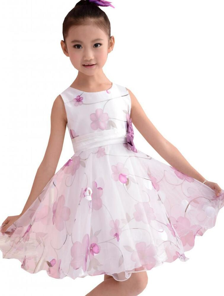 Sunny fashion purple flower layers tulle princess wedding for Girl dresses for wedding