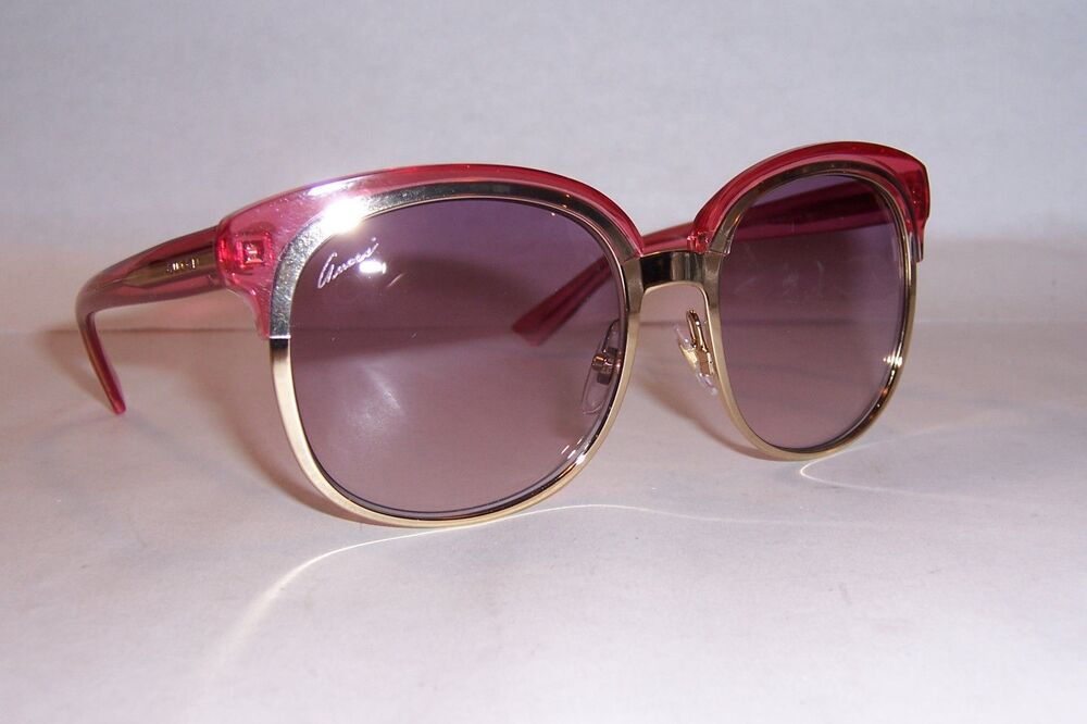 NEW GUCCI SUNGLASSES GG 4241/S EYR-9R GOLD / PINK ...