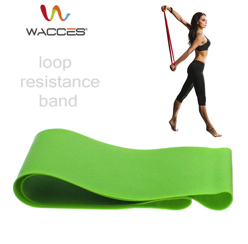 New Resistance Loops Home Gym Exercise Pilates Yoga Band