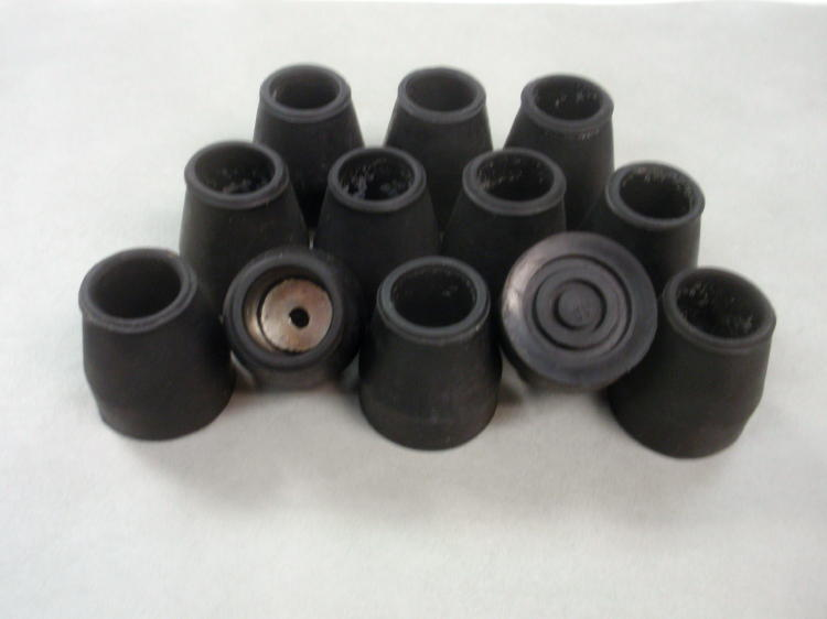 168 each 78quot Black Rubber Tips for Canes Chair Legs  : s l1000 from www.ebay.com size 750 x 562 jpeg 26kB