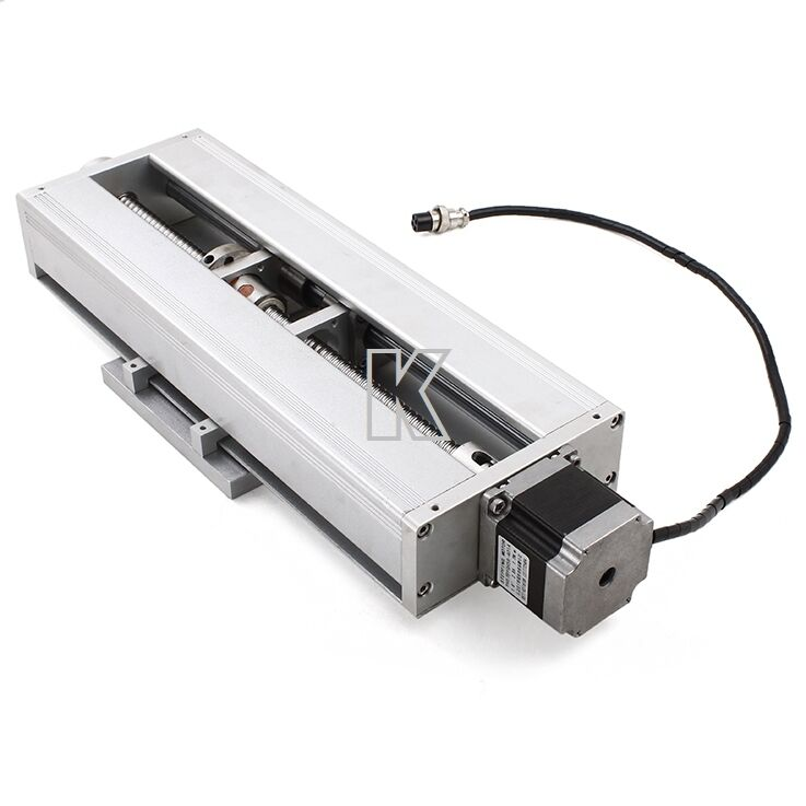 Diy Latest Cnc 250mm Ball Industrial Linear Slide 50kg Nema23 Stepper Motor 12v Ebay