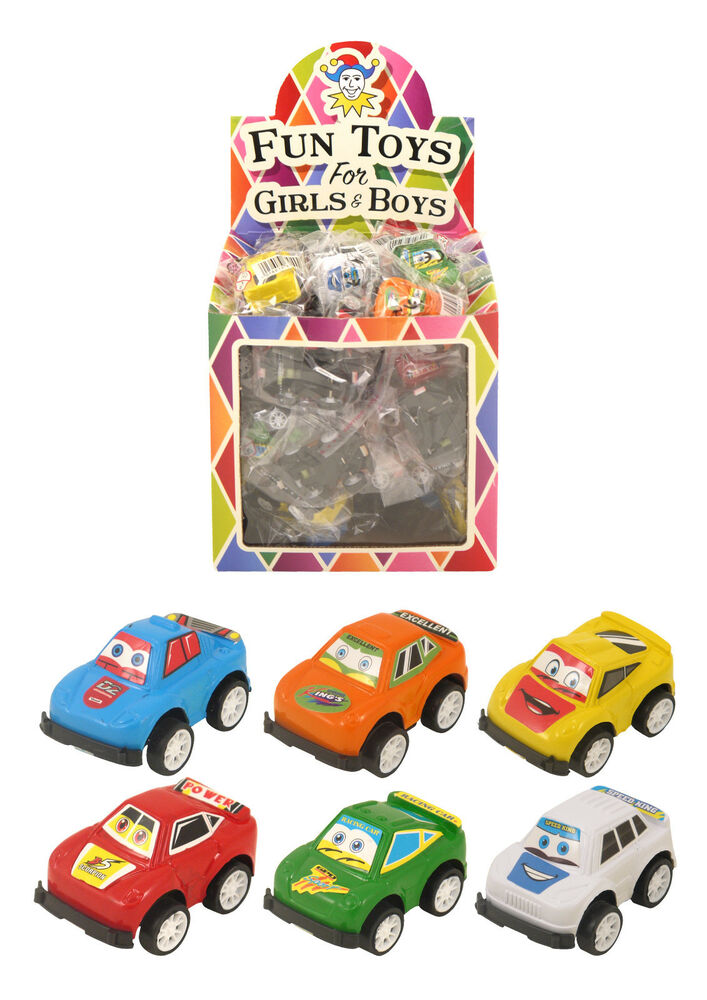 Miniature Toys For Boys : Mini pull back cars party loot bag fillers pinata