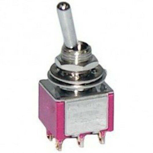 Philmore 30 10018b Miniature Momentary Toggle Switch New