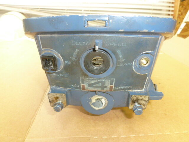 1971 evinrude 4hp 4136d lower motor cover outboard boat for Boat motor covers johnson