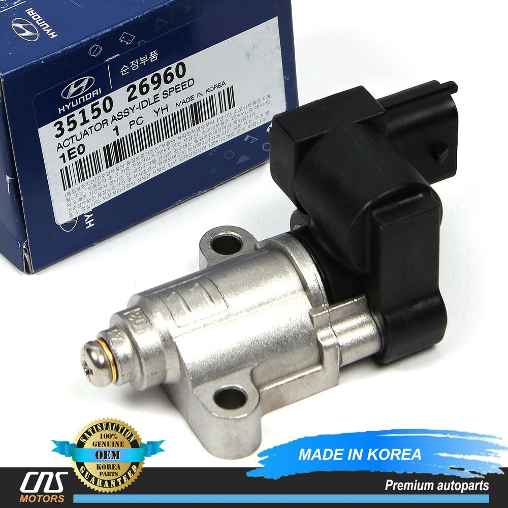Idle Air Control Valve For Hyundai Sonata Tiburon Kia: GENUINE Idle Air Control Valve Fits 06-11 Hyundai Accent