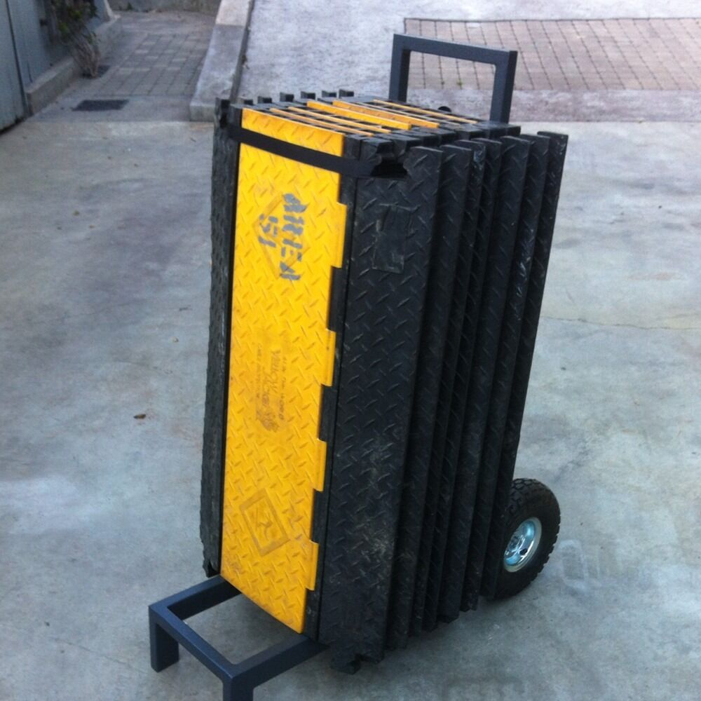 yellow jacket cable cover wire protector cart guard dog cart only ebay. Black Bedroom Furniture Sets. Home Design Ideas