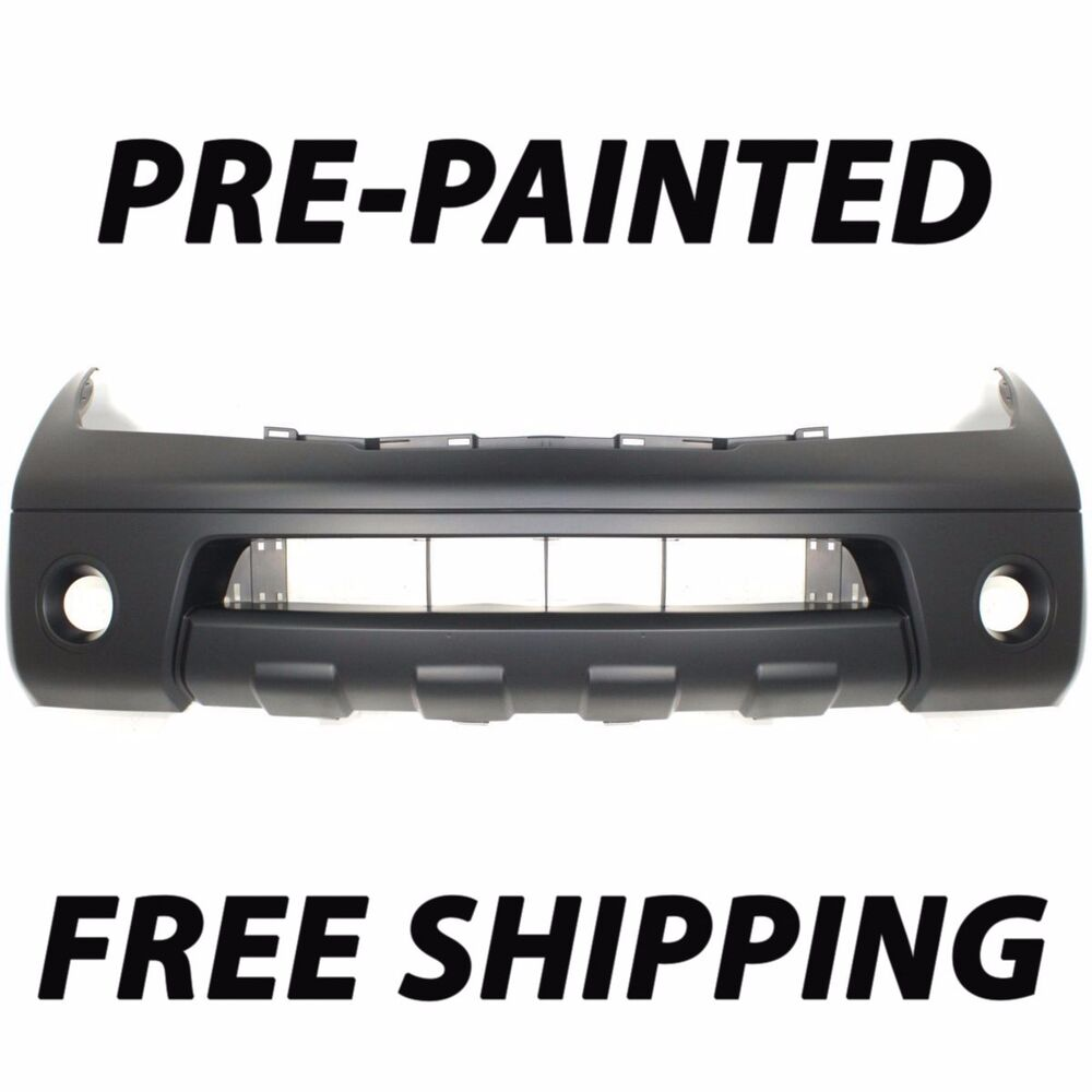 New Painted To Match Front Bumper Cover For 2005 2007