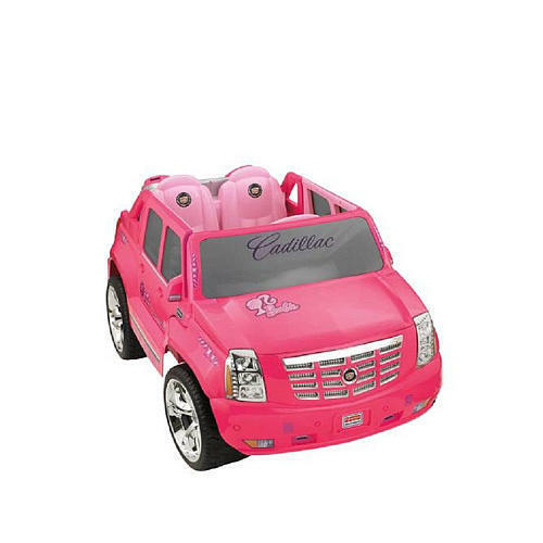 Power Wheels Fisher-Price Barbie Cadillac Hybrid Escalade