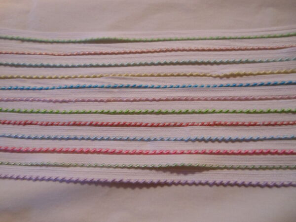 Whipstitch Piping  - 17 Colors  - You Choose - NEW COLORS ADDED SOLD BTY