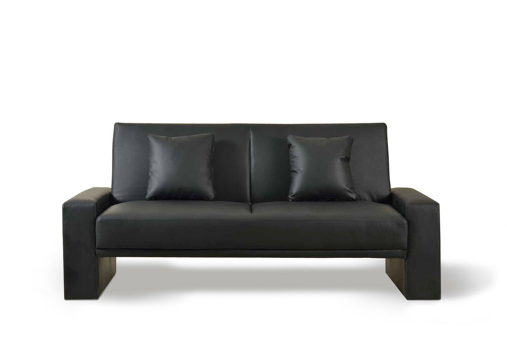 Faux Leather Modern Luxury Sofa Bed Supra Sofabed 2 3
