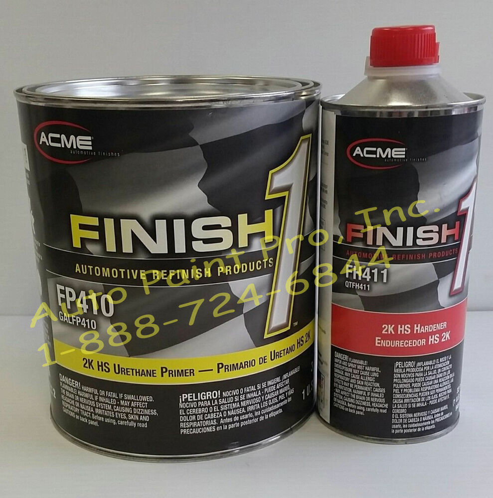 Finish1 2k urethane primer surfacer auto body shop for Automotive paint suppliers