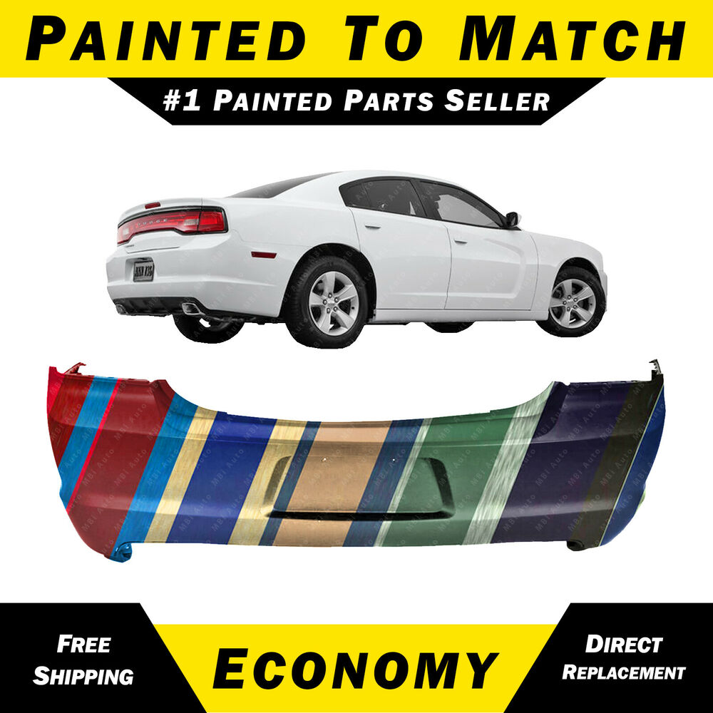 new painted to match rear bumper cover for 2011 2014. Black Bedroom Furniture Sets. Home Design Ideas