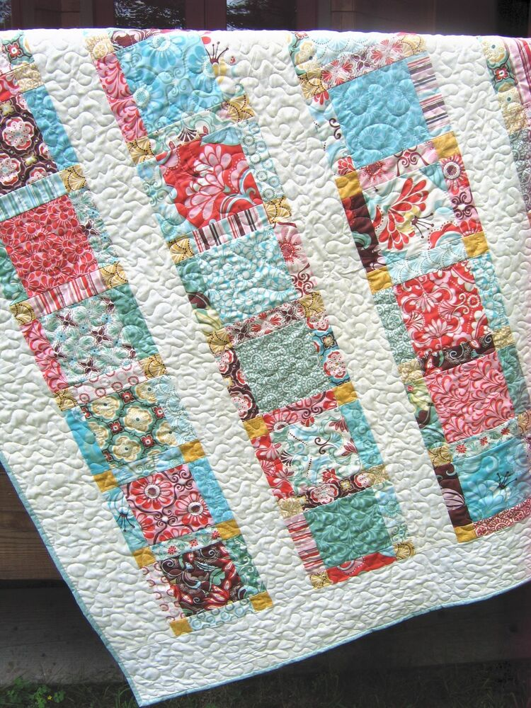 Layer Cake Quilt Patterns Easy : QUILT PATTERN Layer Cake and FQ friendly, simple, fast and ...