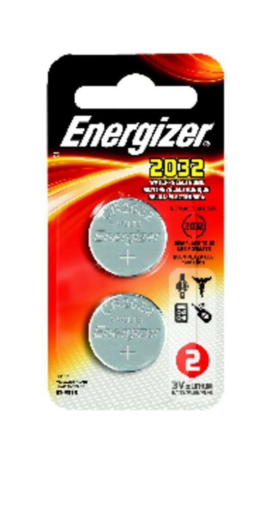 energizer 2032 battery cr2032 lithium 3v 1 pack of 2 ebay. Black Bedroom Furniture Sets. Home Design Ideas