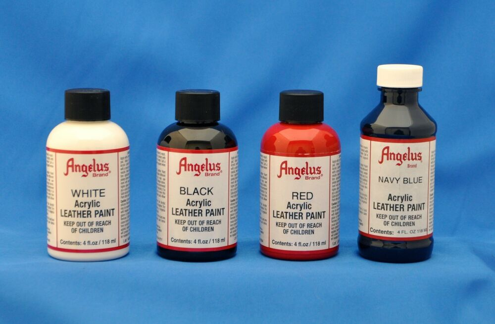 Angelus acrylic paint 4 oz leather vinyl sneakers 14 for Wholesale acrylic craft paint