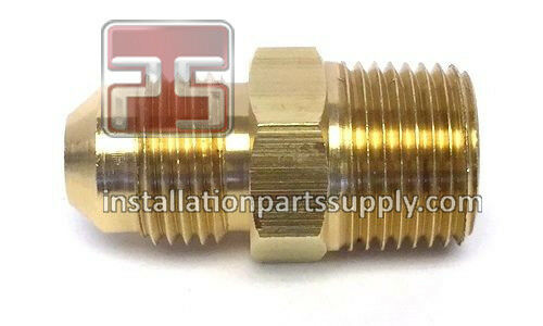 Male sae flare npt mip brass water oil gas air fuel