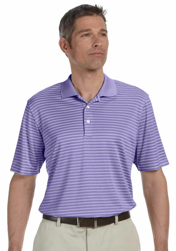 Ashworth men 39 s polyester sports rib knit short sleeve for Men s polyester polo shirts