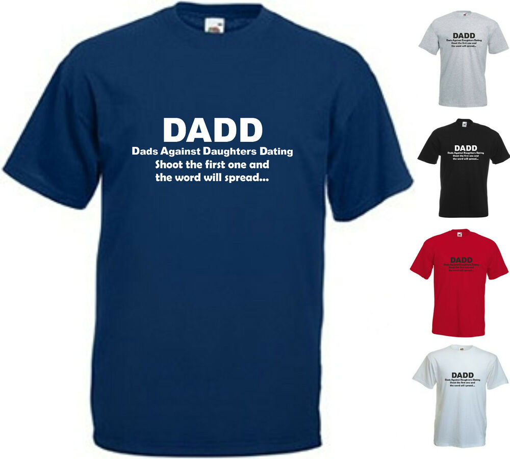 Rules For Dating My Daughter Slim Fit T-Shirt