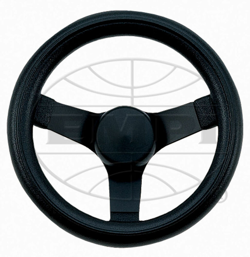 Sand Rail Wheels : Steering wheel black quot dish rat rod hot vw