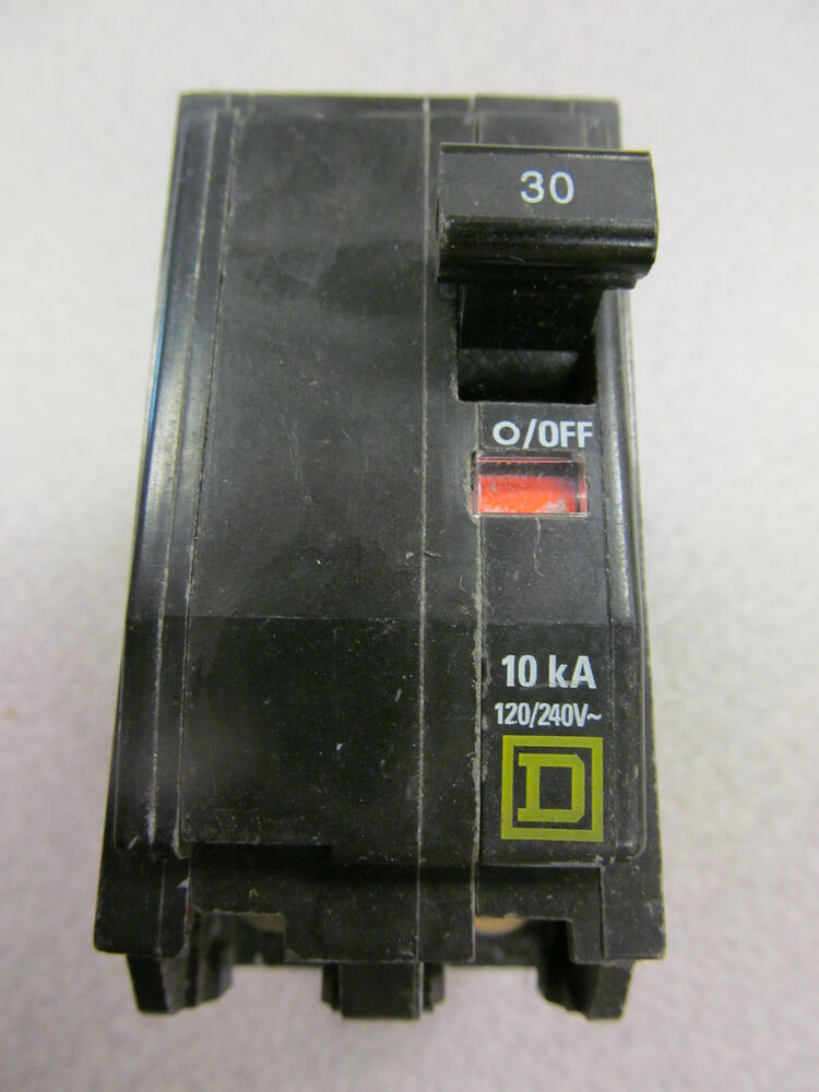 Square D Hacr Type Qo230 Amp 2 Pole Circuit Breaker Lot