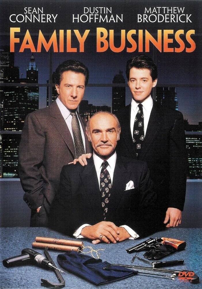 Details about   Family Business ~ Sean Connery Dustin Hoffman ~ DVD WS ~ FREE Shipping USA