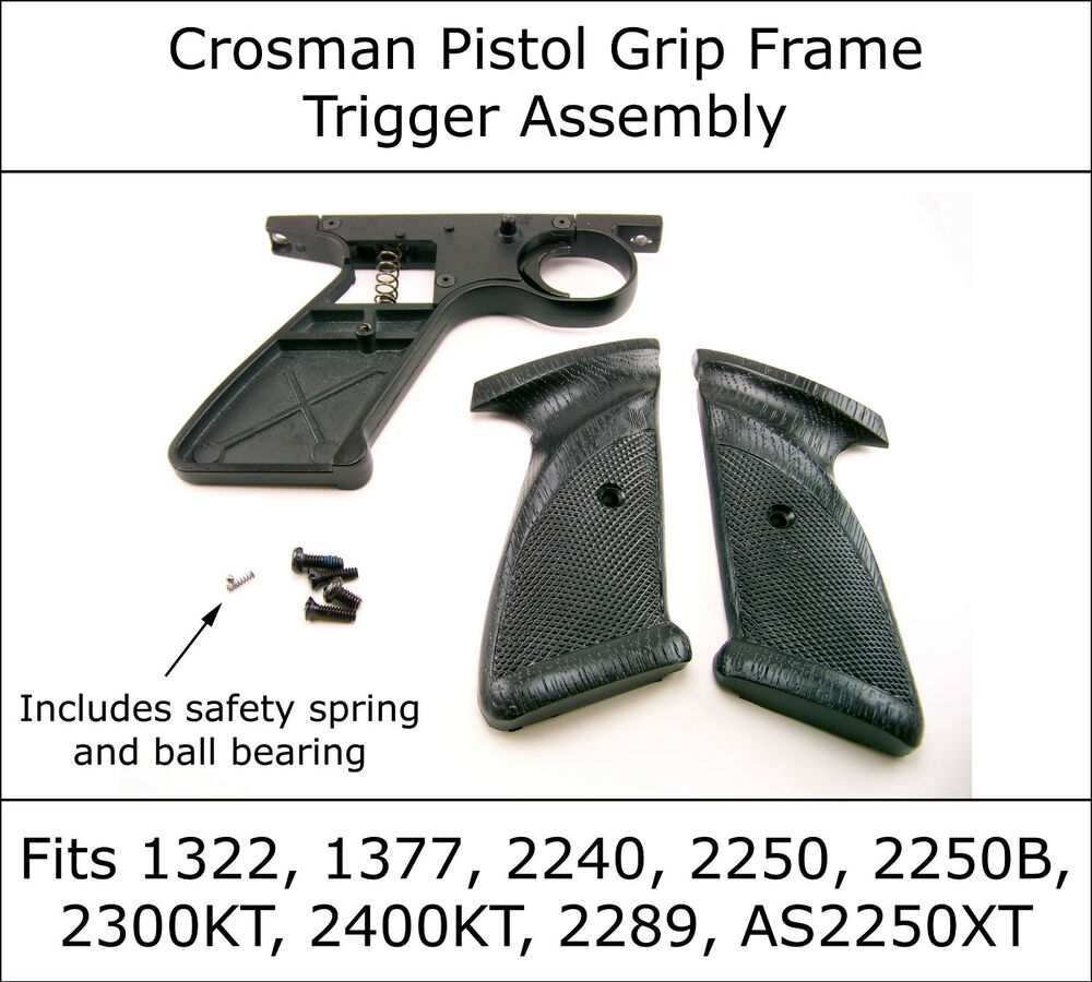 crosman grip frame assembly 2240 2250 1322 1377 2289 2260. Black Bedroom Furniture Sets. Home Design Ideas