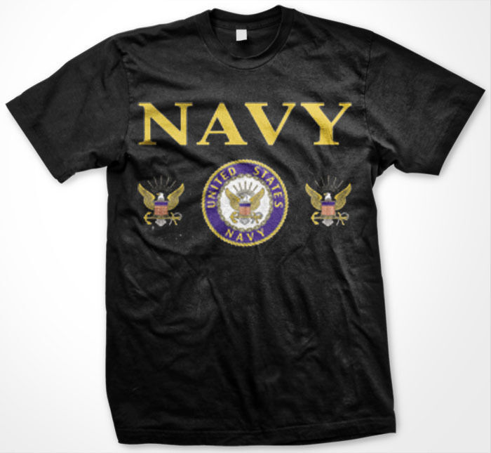 Usa united states navy armed forces patriotic military for Veteran t shirts patriotic t shirts