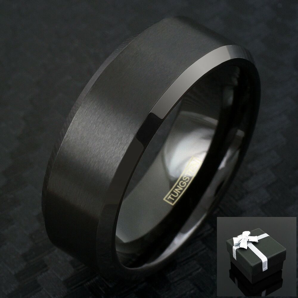 Mens Wedding Band Thin