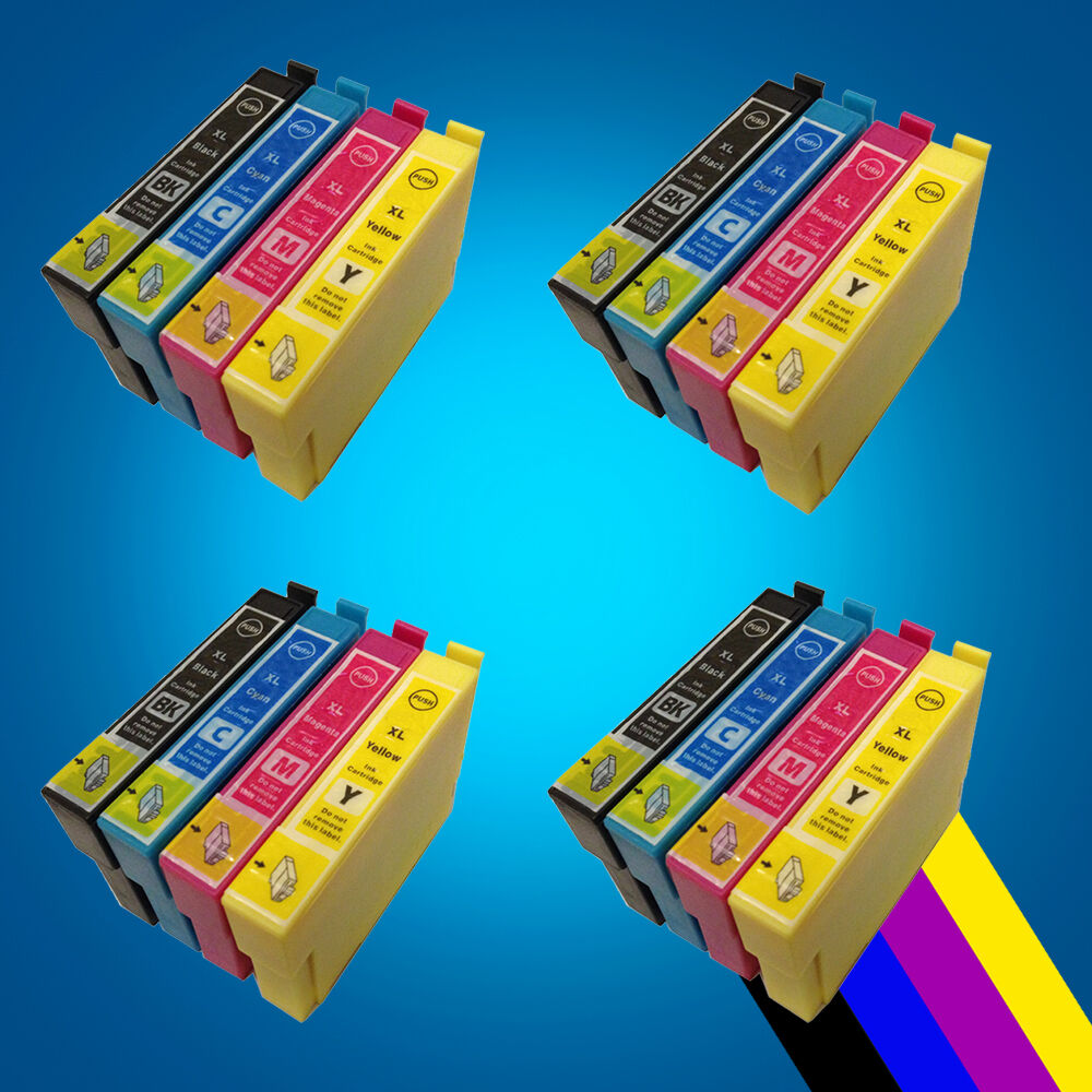16 ink cartridges for epson xp412 xp415 xp315 xp312 xp215 xp212 xp305 xp 202 2 ebay. Black Bedroom Furniture Sets. Home Design Ideas
