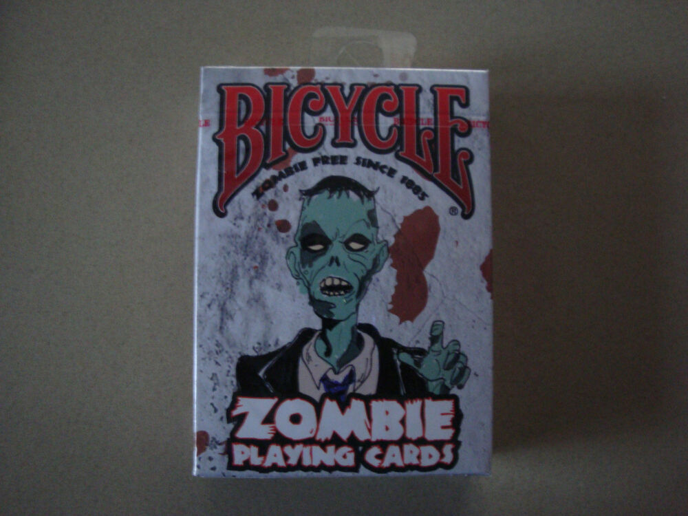 Zombie bicycle deck of playing cards horror halloween for Zombie balcony