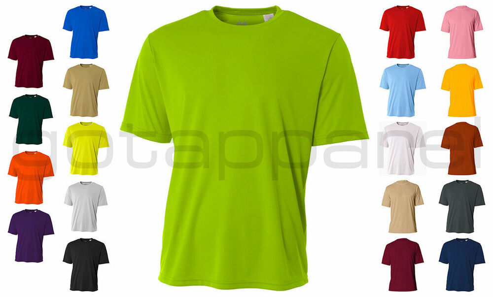 A4 men 39 s new dri fit workout running cooling performance t for Buy dri fit shirts