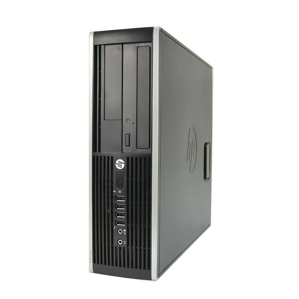 windows 7 hp core 2 duo desktop gaming pc computer 4gb ram 500gb hdd hdmi ebay. Black Bedroom Furniture Sets. Home Design Ideas