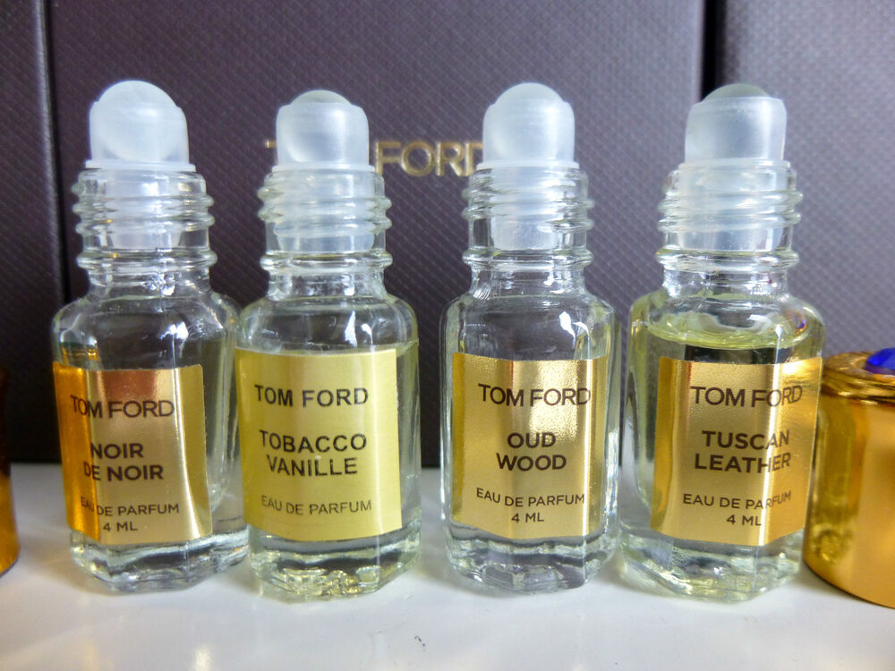 TOM FORD TOBACCO VANILLE, OUD WOOD, TUSCAN LEATHER,NOIR ...