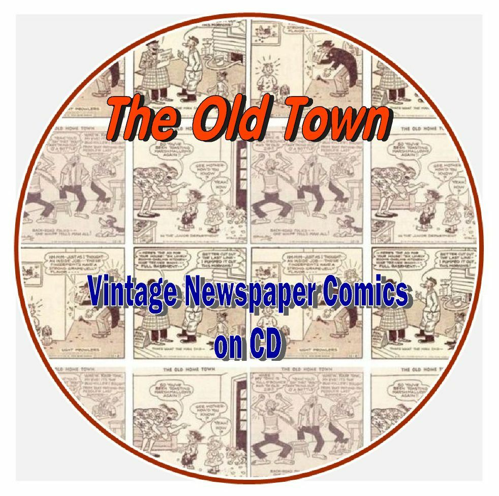 The old home town vintage newspaper comics cd ebay for Classic house cd