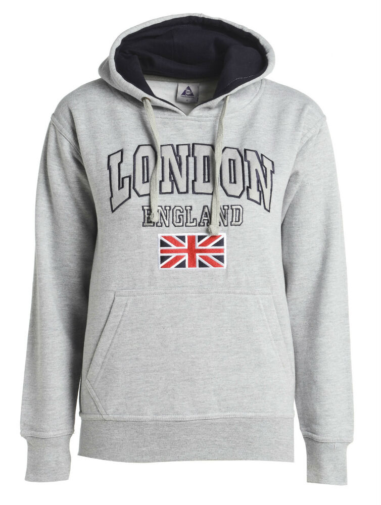 London england hoodie sweat shirts fleece embroidered soft for How to not sweat through shirts
