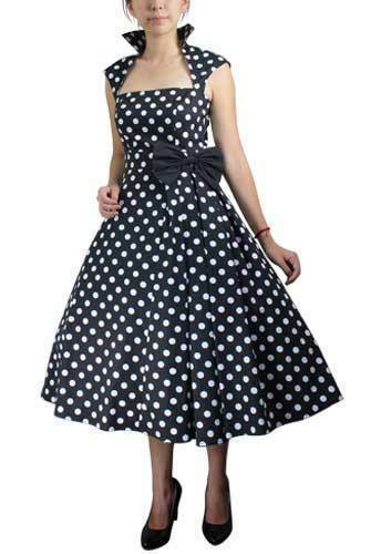 """SOUGHT-AFTER DOTS Just because you're seeking cocktail dresses, shirt dresses, and twofer dresses doesn't mean you can't also be searching for polka dot dresses!ModCloth's women's dresses combine desires, representing the gamut of silhouettes and mixing a myriad of prints."