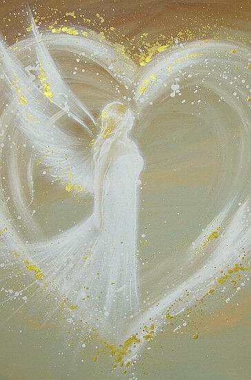 Modern Angel Art Poster Quot Way In Your Heart Quot From Artist