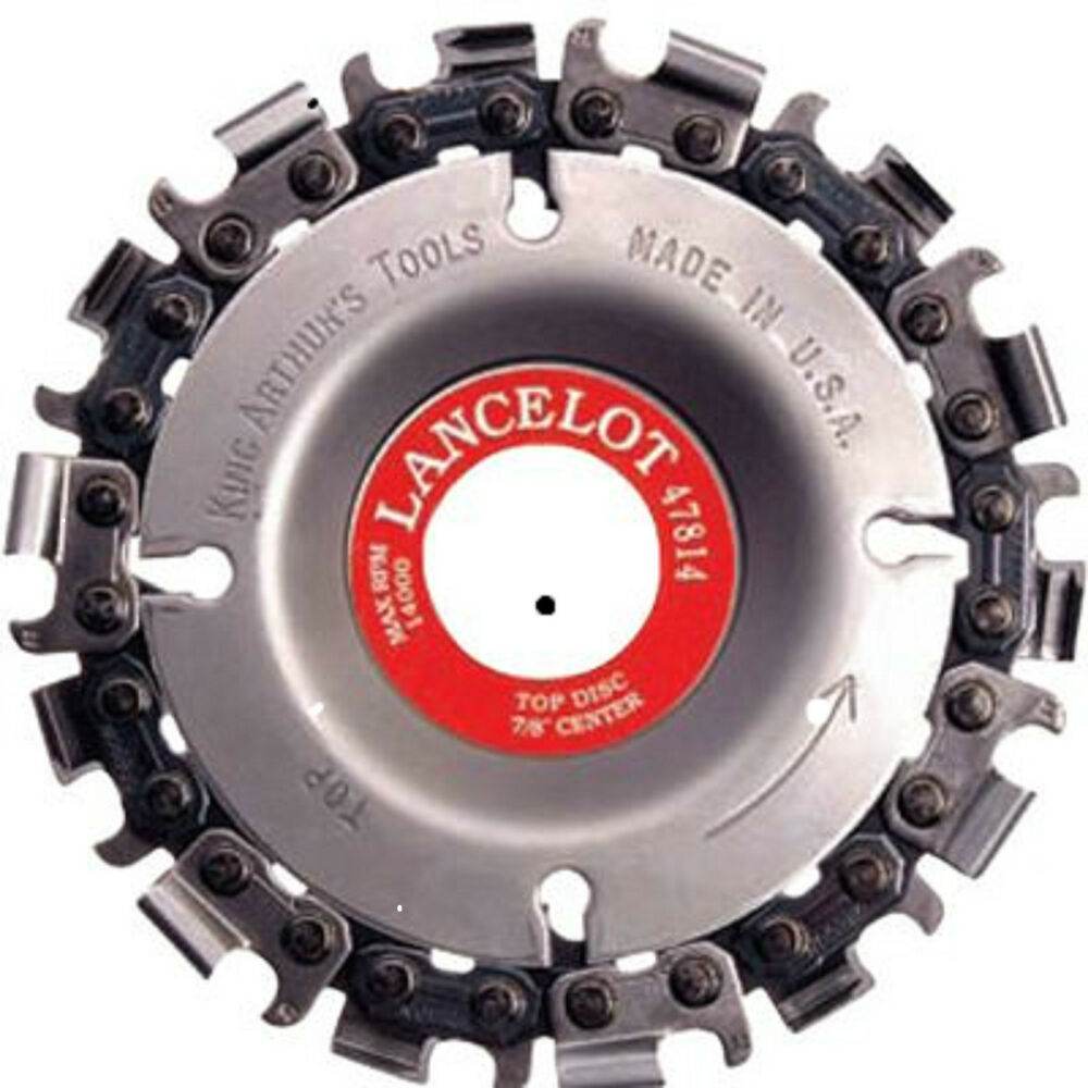 Inch chain saw blade excellent for rapid wood removal