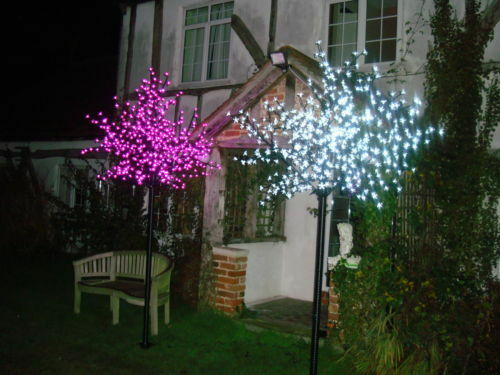 LED Cherry Blossom Tree Indoor Or Outdoor Christmas Tree 2