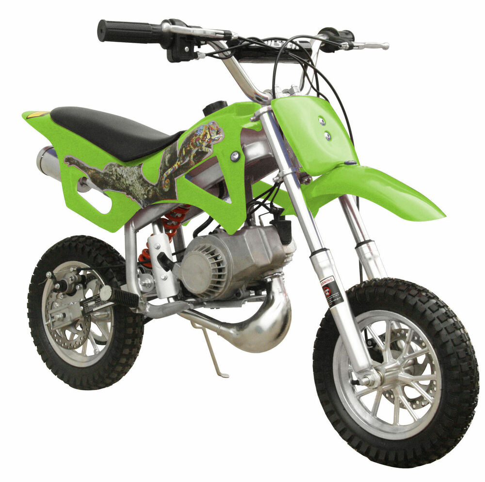 free shipping kids 49cc 2 stroke mini pocket bike dirt bike green i db49a ebay. Black Bedroom Furniture Sets. Home Design Ideas