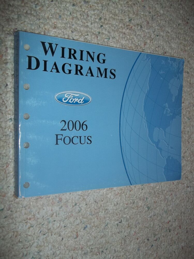 2006 Ford Focus Evtm Service Workshop Shop Repair Manual Wiring Diagrams 06